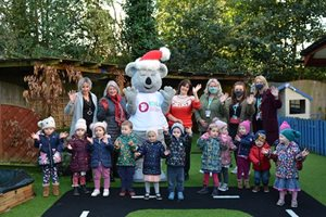 Early Years Families donate generously for local families