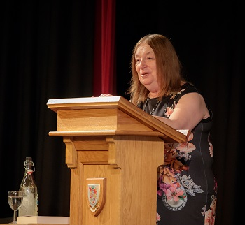 Alison Weir at Birkenhead School